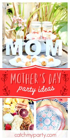 Lori G's Mother's Day / - Boho Mother's Day at Catch My Party 16th Birthday, Girl Birthday, Birthday Parties, Art Sets For Kids, Party Themes, Party Ideas, Party Activities, Easter Party, Party Favors