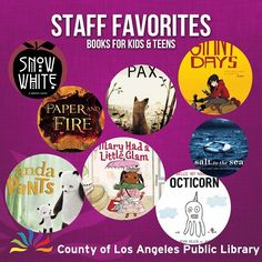 Our staff loves to read the latest children and teen books! Find out what our favorites were in 2016 with this annotated list of titles. Find it under Books & Media on our website! #reading #books
