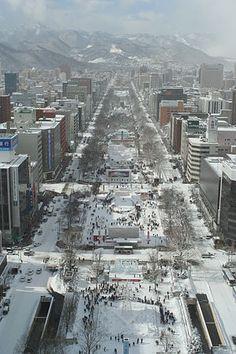 Sapporo Snow Festival 札幌雪祭り