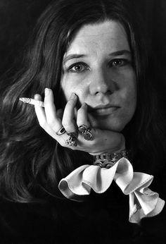 Janis Joplin (1943 – 1970), USA - by Daniel Kramer, USA