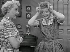 Ethel & lucy... This is how true frienship is built...I think am Luzy  Ethel...lol