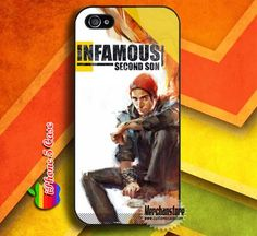 Infamous Second Son Custom iPhone 5 Case Cover