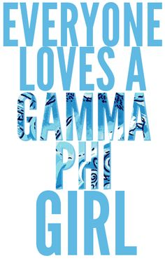 #Lilly Pullitzer and Gamma Phi Beta go together like girls and their pearls.