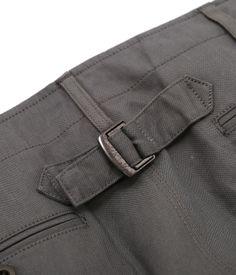 sacai 2014SS C/L CROPPED PANTS Gray