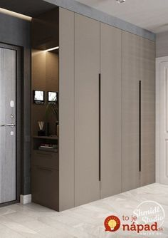 Bedroom cupboards - Top 13 Closet Door Ideas to Try to Make Your Room Clean and also Sizable closetdoorsbifoldclosetdoorknobsclosetdoormenardsclosetdoorlocksclosetdoorreplacement Wardrobe Design Bedroom, Bedroom Furniture Design, Bedroom Wardrobe, Wardrobe Closet, Hallway Furniture, Modern Wardrobe, Cabinet Furniture, Bedroom Decor, Furniture Ideas