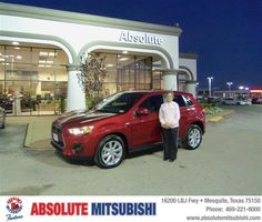 #HappyAnniversary to Christina C Mellor on your 2013 #Mitsubishi #Outlander Sport from Unknown  at Absolute Mitsubishi!