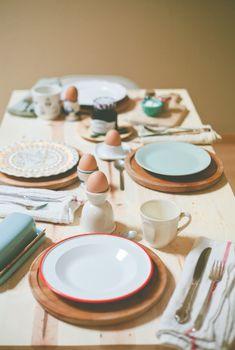 beautiful brunch table