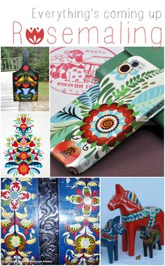 What is Rosemaling? - Mad in Crafts