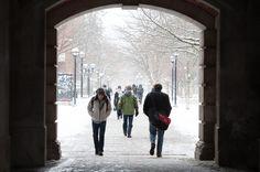Winter, University of Michigan campus, Ann Arbor
