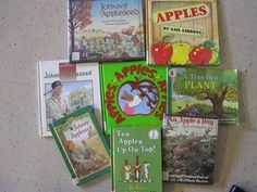 Apple Unit with book suggestions for Fall/Harvest theme