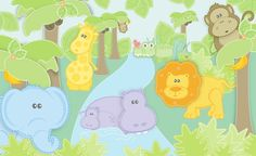 Baby animals and nice color scheme