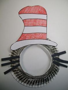 Cute idea to make and have the kids take pictures with this for Dr. Seuss day