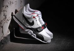 Nike Air Trainer 1 Low White / Black Red