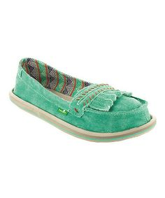 Another great find on #zulily! Sea Glass Shorty Ivy Slip-On Shoe - Women by Sanuk #zulilyfinds