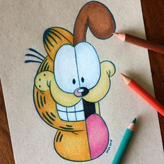 Ideas for disney art drawings sketches pencil coloring Cute Disney Drawings, Cool Art Drawings, Pencil Art Drawings, Art Drawings Sketches, Easy Drawings, Drawing Disney, Drawing Art, Simple Cartoon Drawings, Drawing Ideas