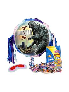 Godzilla Pinata Kit - Pinata Kits & Individual Party Supplies