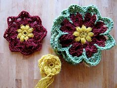 Ravelry: Octagon Flower pattern by Leonie Morgan