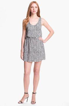 Parker 'Daria' Silk Blouson Dress