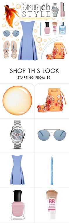 """""""Bubble bruch"""" by belen-cool-look ❤ liked on Polyvore featuring Seletti, Marina Hoermanseder, FOSSIL, Too Faced Cosmetics, Fraiche, Deborah Lippmann and Maybelline"""