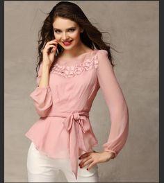 3 cores S-XXL lace impressão blusas de manga comprida chiffon camisa blusa mulheres