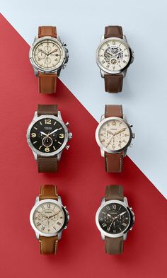 Men's watches. Watches timed to his style.