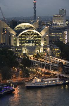 Embankment Station ~ London, England