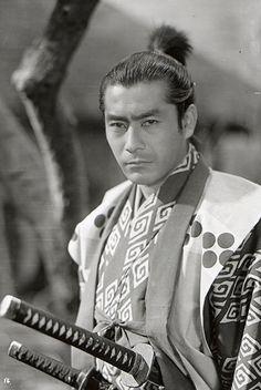 Toshiro playing Takezo in Samurai Trilogy by director Hiroshi Inagaki