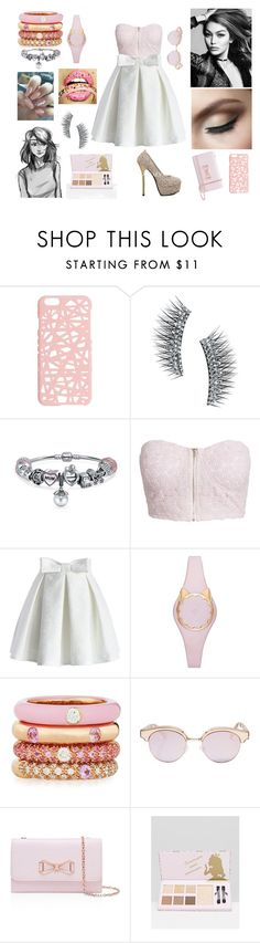 """Pink It Up!"" by galaxy-moon-stars on Polyvore featuring Miss Selfridge, Kre-at Beauty, Bling Jewelry, NLY Trend, Chicwish, Kate Spade, Adolfo Courrier, Le Specs Luxe and Ted Baker"