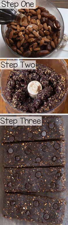 Paleo Bars – That Taste Like Chocolate Brownies