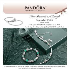 Free Bracelet With Purchase!