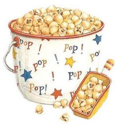 Get the kids to make popcorn before watching a video clip on food technology!!