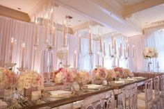 An Intertwined Event: Modern  Blush & Gold Glam Huntington Hyatt Wedding Intertwined Events - Indian Wedding  Photo: http://www.andrenaphoto.com