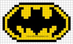 MINECRAFT PIXEL ART – One of the most convenient methods to obtain your imaginative juices flowing in Minecraft is pixel art. Pixel art makes use of various blocks in Minecraft to develop pic… Minecraft Templates, Pixel Art Templates, Templates Free, Blogger Templates, Minecraft Kunst, Minecraft Pixel Art, Minecraft Buildings, Batman Logo, Pixel Pattern