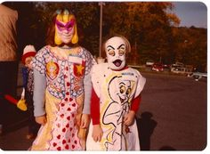 Vintage Halloween Costumes - A collection of Halloween pictures from the 70s and 80's (Curly Birds)