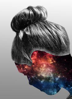 Galaxy face