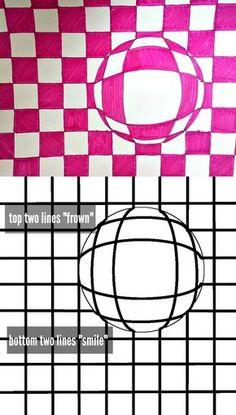 optical illusion art classroom guide