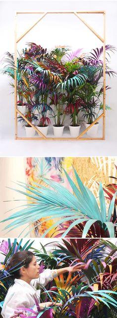 Best Ideas for diy art installation colour Art Floral, Floral Design, Diy Art, Photowall Ideas, Instalation Art, Artistic Installation, Event Design, Home Art, Sculpture Art