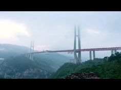 China opened the highest bridge in the world - YouTube