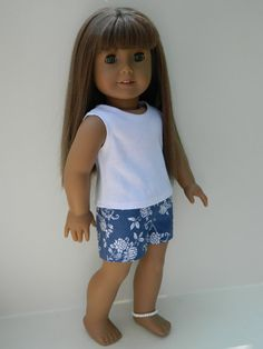 American Girl Doll Clothes  18 Boutique Short Shorts by 18Boutique, $8.00
