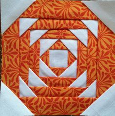 The Tilted Quilt: Tips and Tricks Tuesday - Paper Piecing Pineapple Quilt Pattern, Pineapple Quilt Block, Paper Piecing Patterns, Quilt Block Patterns, Quilt Blocks, Small Quilts, Mini Quilts, Quilting Tutorials, Quilting Designs