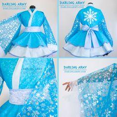 Elsa Cosplay Kimono Dress by DarlingArmy on DeviantArt