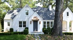 classic renovation - amanda orr architects - white brick, copper accents