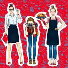 #AnnaLazareva #fashion #fashionable #teens #businessattire #student #chef #photographer #shutterbug #illustration #teens #hipster #style #stylish #digitalillustration #digital #graphic #clothing #LindgrenSmith