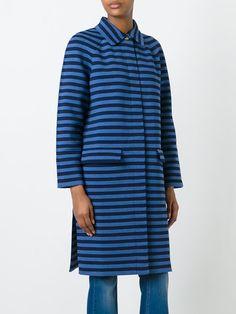 Sonia Rykiel striped midi coat