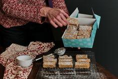 Gingerbread Shortbread Bars - Crosby's Molasses Gluten Free Gingerbread, Gingerbread Latte, Gingerbread Cookies, Gingerbread Recipes, Christmas Desserts, Christmas Treats, Christmas Goodies, Holiday Treats, Christmas Recipes