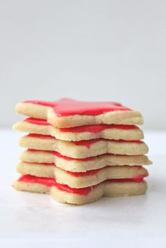 The Best Sugar Cookie Icing. Ever. Tastes so good, hardens nicely, and is so easy to make!