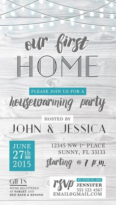 Tag Housewarming Party Game Printouts Room Memory Beautiful Housewarming Party Invitation Modern Rustic Minimalist – Home Design Housewarming Invitation Wording, Housewarming Party Invitations, Shower Invitations, House Warming Party Invites, 30th Birthday Ideas For Women, First Home, Invitation Design, Invitation Ideas, House Party
