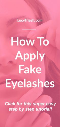 Need help applying fake eyelashes? Then look no further because this is the tuto… – Face Makeup False Eyelashes Tips, Applying False Eyelashes, Fake Lashes, Beauty Hacks For Teens, Beauty Tips For Women, Beauty Tips For Face, Beauty Secrets, Eyelashes Tutorial, Best Makeup Tips