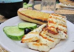 Halloumi cheese is used quite a lot in the Cyprus cuisine and it is just a delight, grilled a bit and enjoyed with breakfast!
