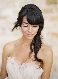 Brides With Bangs | Brides with Fringes | Wedding Hair Inspiration | Bridal Musings 2